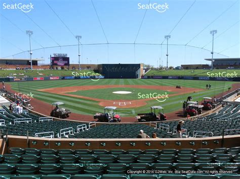 Section 212 E by Salt River Fields Seating Chart Interactive Seat Map