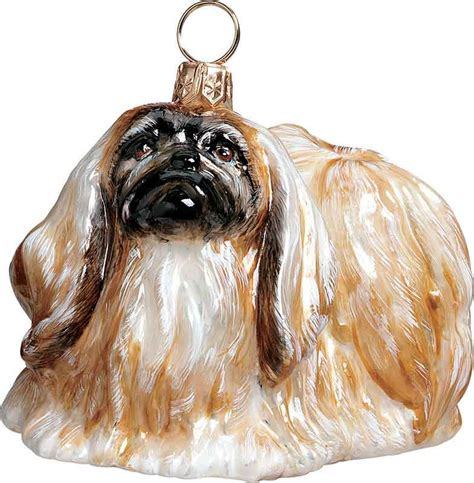 pekingese dog ornament