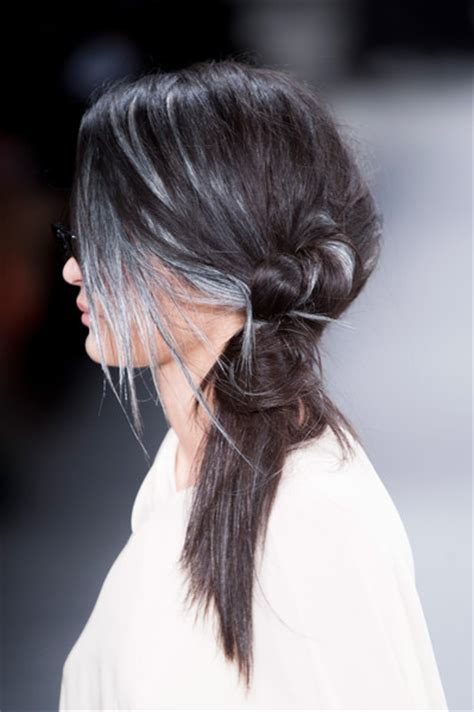 grey hair 2015 highlight ideas 1000 ideas about gray highlights on pinterest hair