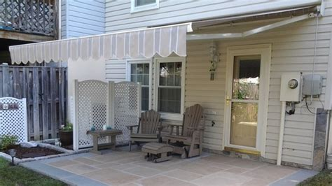 cost of retractable awning the pros and cons of retractable deck awnings angie s list