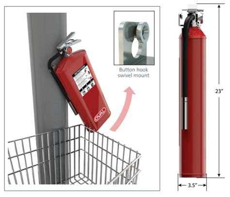 fire extinguisher height standard mounting height fire extinguisher