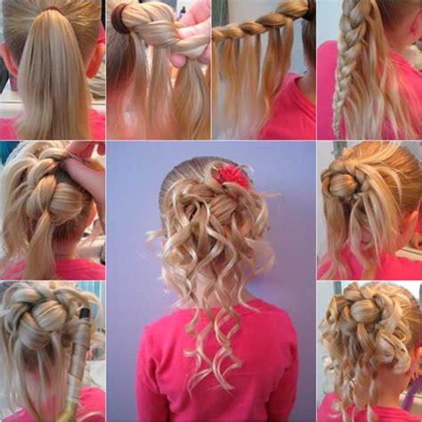 cute girl hairstyles diy how to make cute hairstyle for girls diy tutorial