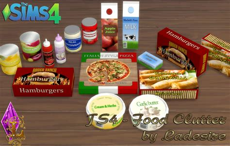 Sims 4 Food Cc | ladesire s creative corner ts4 food clutter by ladesire
