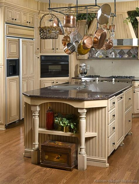 Antique Kitchen Cabinet with Pictures Of Kitchens Traditional White Antique Kitchen Cabinets Page 3