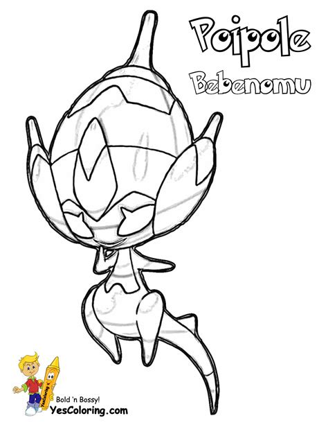 pokemon coloring pages yescoloring com potent pokemon sun printables bruxish 779 zeraora 807