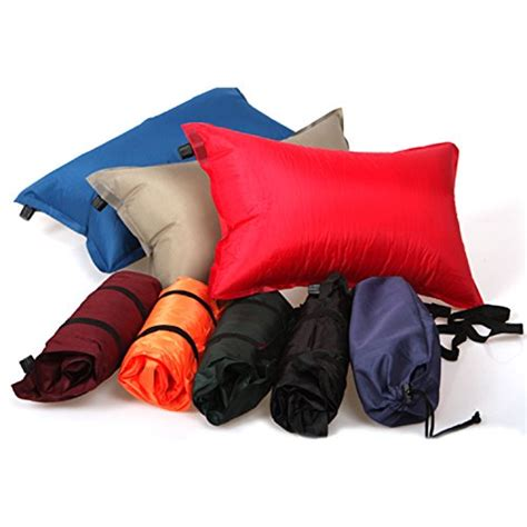 Airplane Pillow For by Outdoor Self Cing Pillow Lightweight Travel