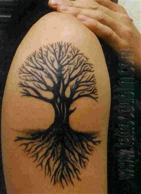 tree of life tribal tattoo tribal tree by tattoodublin via flickr