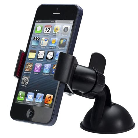 new balck white universal car windshield mount holder