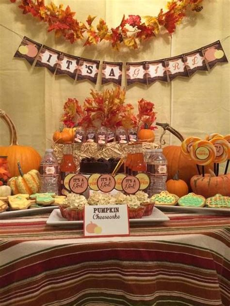 autumn themed baby shower ideas fall baby shower baby shower ideas