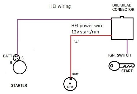 gm hei coil wiring terminals gm wirning diagrams