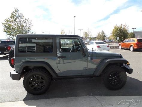 jeep willys 2015 4 door 2015 wrangler willys wheeler sport 4x4 top 3 6l v6