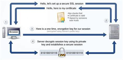 Process Of Pki In Cyber Security For Mba by Https Communication Data Encryption
