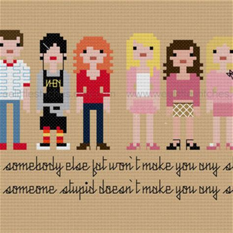 pattern stitch meaning pixel people mean girls pdf from weelittlestitches on etsy