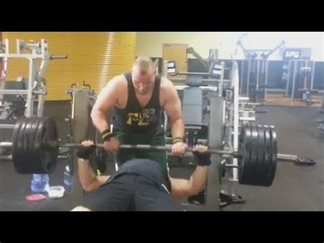 500lb bench press 500 pound bench press youtube