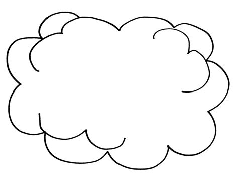 Free Printable Cloud Coloring Pages For Kids Coloring Pages Clouds