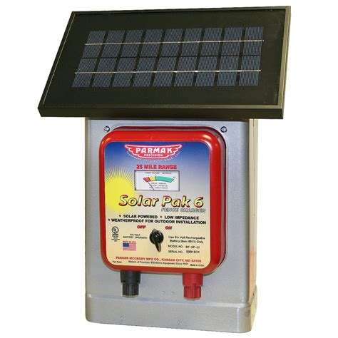 solar fence chargers solar fence charger electric fence parmak