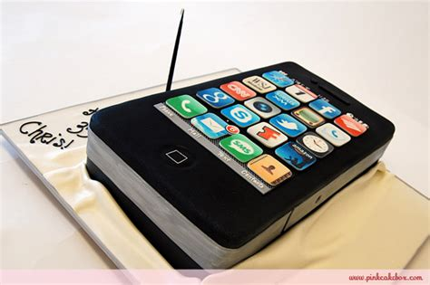iphone cake decorations cell phone cake 187 birthday cakes