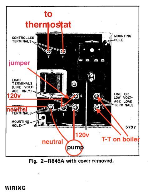 honeywell r845a1030 wiring diagram r free