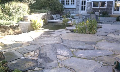 large patio stones patios and pathways