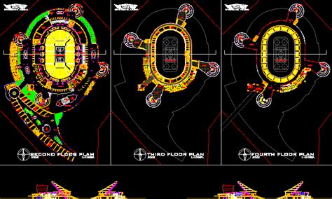 sports arena dwg section  autocad designs cad