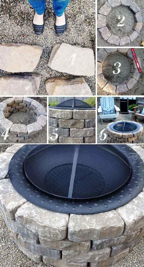39 Easy To Do Diy Fire Pit Ideas Homesthetics Diy Backyard Pit Ideas