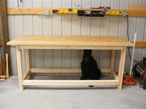2x4 work bench workbench plans using 2 215 4 woodproject