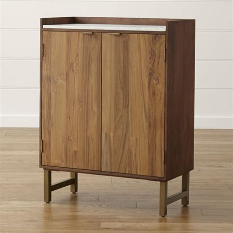 bar cabinets cantina bar cabinet crate and barrel