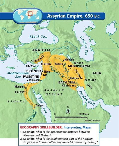 middle east map babylon empire and search on