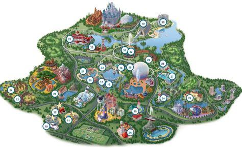 disney maps disney world map free large images