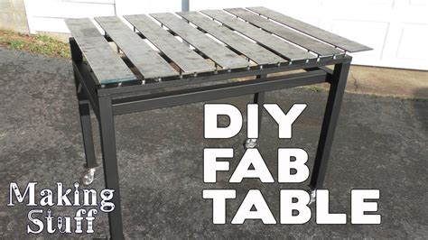 diy welding table plans diy welding fabrication table stronghand on a budget