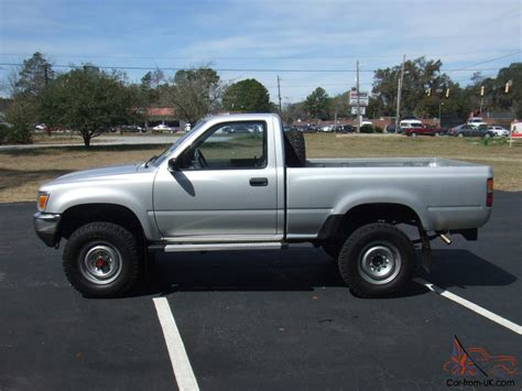 short bed trucks 1989 toyota pickup 4x4 short bed