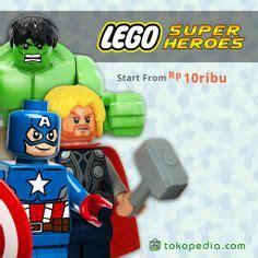 Gelang Lego Captain America list on 515 pins