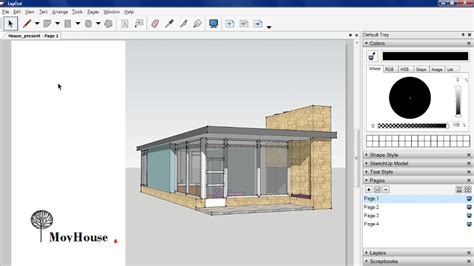 sketchup layout line tool sketchup pro tools and techniques 2010