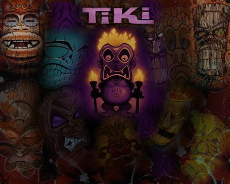 Tiki Hut Wallpaper Tiki Wallpaper Wallpapersafari