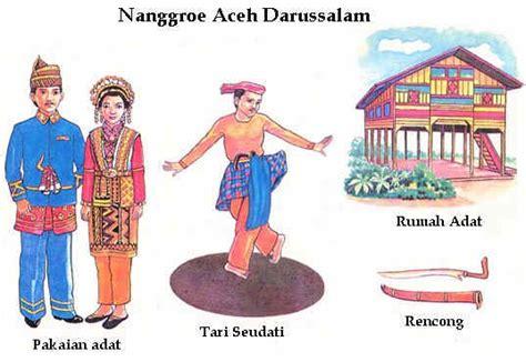 Tentang Baju Adat Aceh siti nur hikmah d gambar rumah adat tarian adat sejata khas dan pakaian adat seluruh
