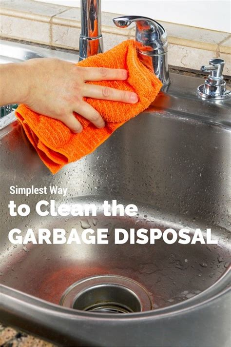 how to clean disposal simplest way to clean your garbage disposal the o jays