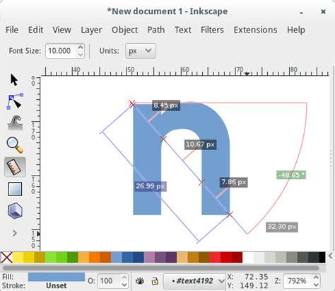 inkscape tutorial angle inkscape 0 91 feature measurement tool inkscape