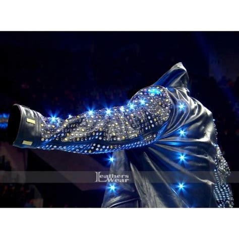 chris jericho light up jacket chris jericho light up style leather jacket
