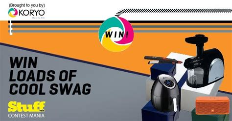 Coolest Swag Giveaways - win loads of cool swag free stuff contests deals giveaways free sles india