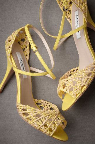 yellow sandals for wedding 1000 images about wedding shoes ivory or yellow on