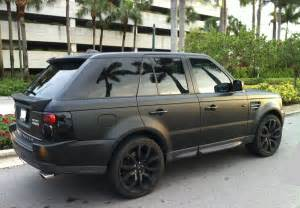range rover sport supercharged matte black miami