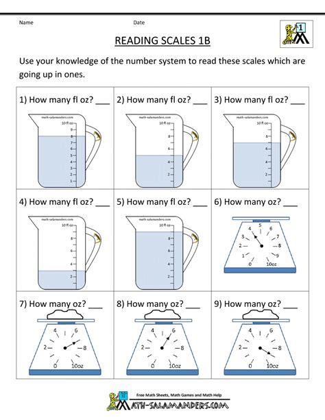 math third grade free worksheets rd measurement math