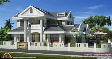 House Models Plans Classic Style Kerala Model House Kerala Home Design And Floor Plans
