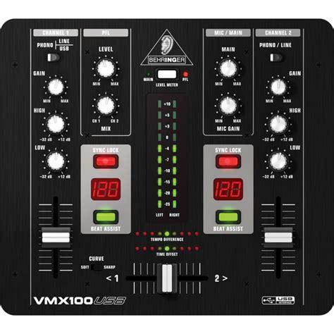 behringer pro vmxusb professional  channel dj mixer