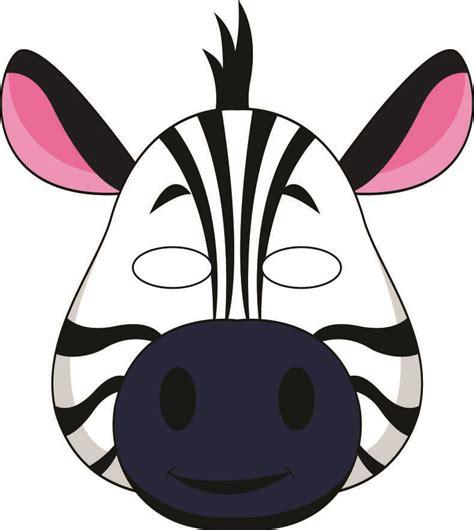 printable animal mask cutouts jungle masks