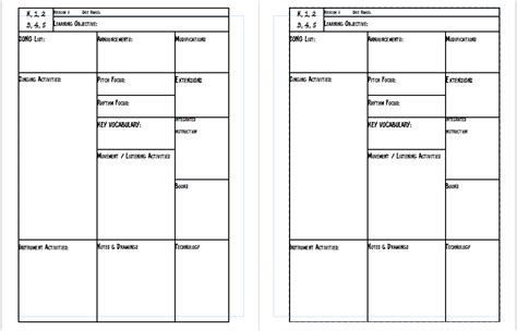 free printable lesson plan calendar blank calendar template 2016 for teachers calendar