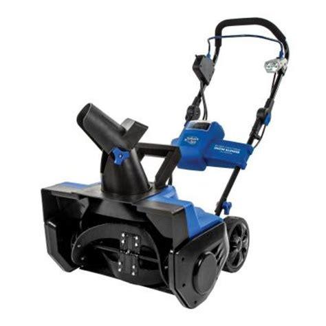 snow joe pro series 21 in cordless electric snow blower