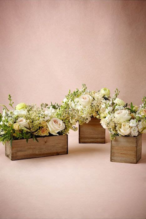 wood boxes for centerpieces flower box centerpieces