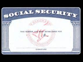 blank social security card template name change the newlywed