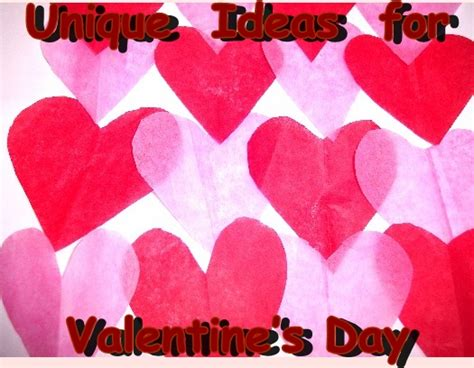 different ideas for valentines day unique ideas for s day